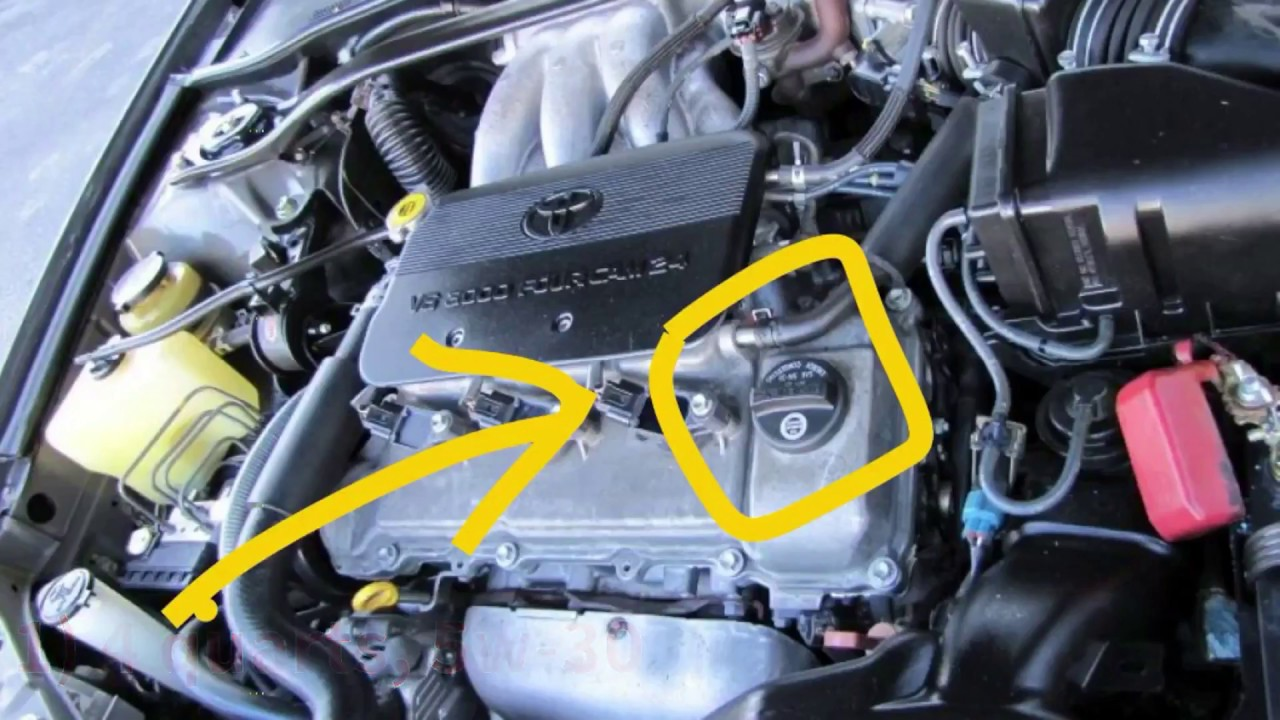 Mobil 1 Oil Change >> 2002 V6 Toyota Camry Oil and filter Change - YouTube