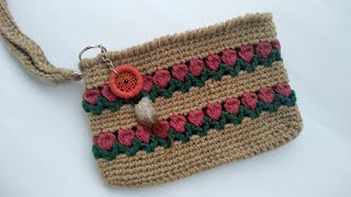 How to Crochet the Tulip Purse (Rectangle)