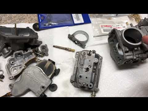 Keihin FCR carb mid body gaskets - what to look out for on your cleaning and rebuilds!