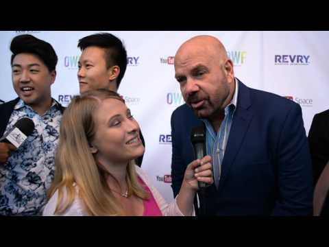 Jason Stuart Interview at Out Web Fest Opening Night with REVRY TV