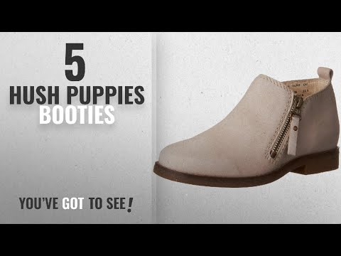 Top 5 Hush Puppies Booties [2018]: Hush Puppies Women's Mazin Cayto Flat, Birch Nubuck, 10 W US