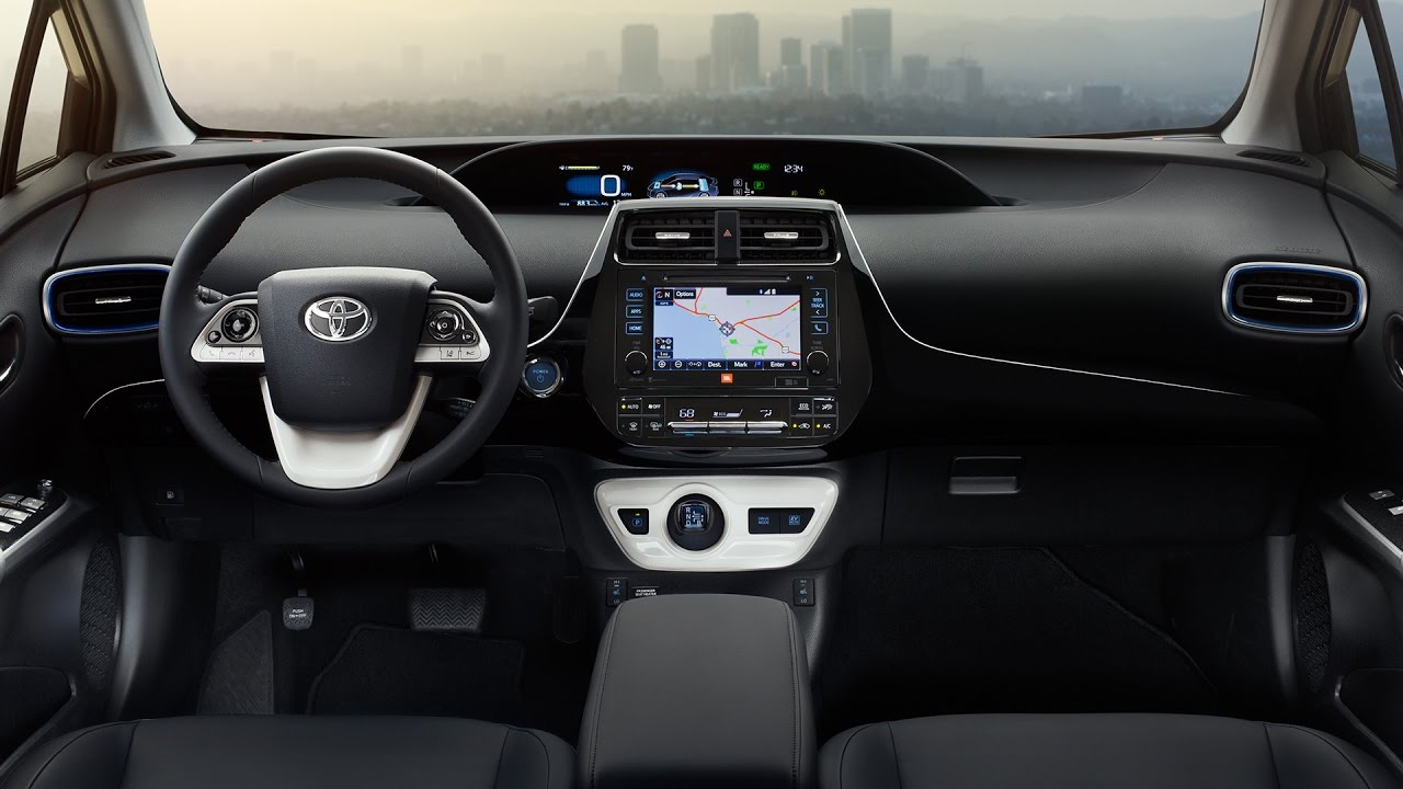 2017 Toyota Prius Interior Review - YouTube
