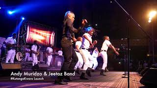 Andy Muridzo and Jeetaz Band Live at Jah Prayzah Album launch #KutongaKwaro