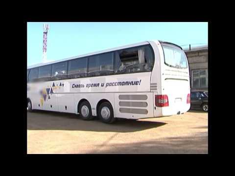 В Братске напали на междугородный автобус