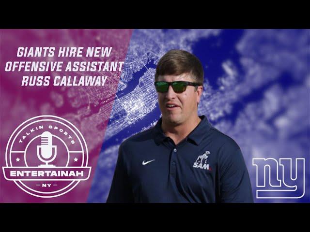 New York Giants | Coach Hire- Giants hire new Offensive Asst Russ Callaway! Judge Spicing up offense