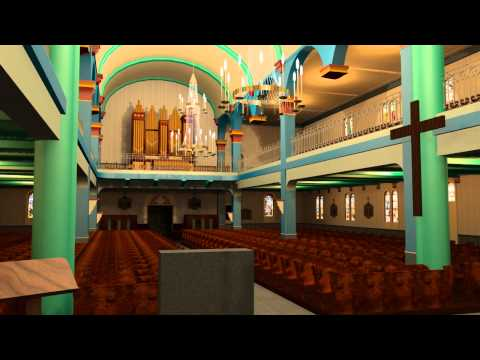Cathédrale de Saint-Pierre & Miquelon (animation 3D)