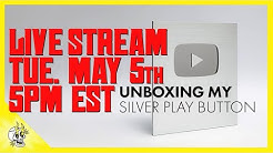 Play Button LIVE Stream Unboxing (TUE. MAY 5th 5pm EST)