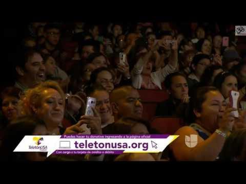 GS - Ricky Martin lip sync teleton USA 2016