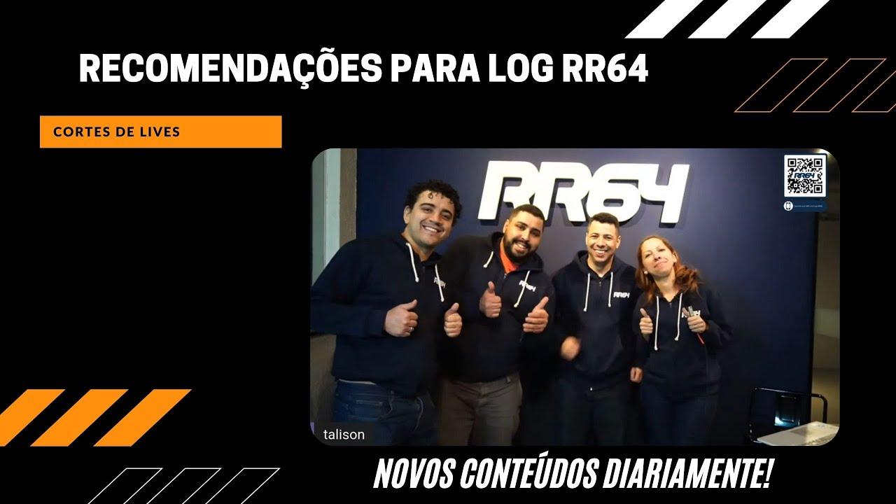 RECOMENDAÇÕES PARA LOG - RR64
