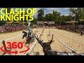 Medieval conquest: Battle for victory in a wild jousting match in VR
