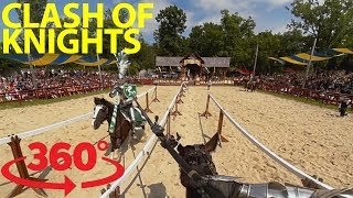 Medieval conquest: Battle for victory in a wild jousting match in VR thumbnail