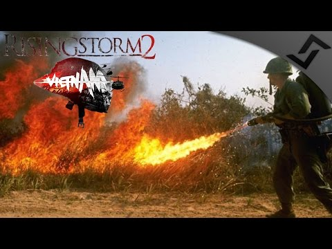 Hamburger Hill & Flamer Bros  - Rising Storm 2: Vietnam - Exclusive Closed Beta Gameplay