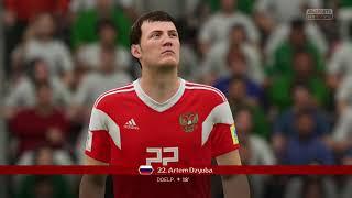 FIFA 18 Full Gameplay: 2018 FIFA World Cup Russia  Groupstage: Russia Vs Saudi Arabia (First Half)