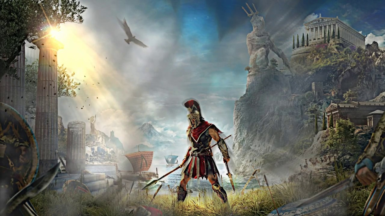 Assassins Creed Odyssey Wallpaper Fan Art Youtube