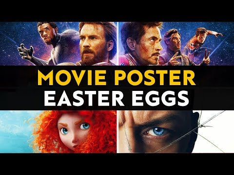 The Best Easter Eggs and Secrets in Movie Posters