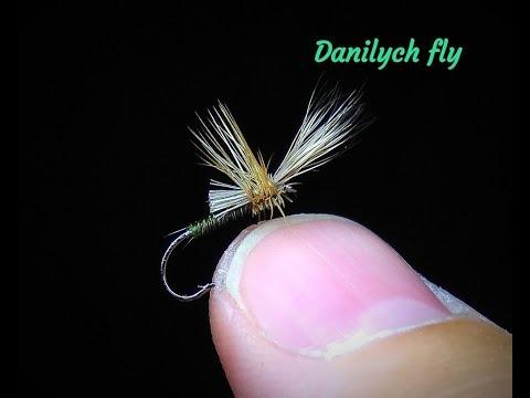 Нахлыст и вязание мушек от Данилыча - Лучшая осенняя мушка на хариуса. Всплывающая поденка.