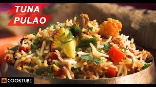 Tuna Pulao Recipe | Fish Pulao | Fish with Rice and Vegetables