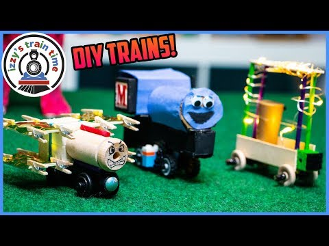 DIY Thomas and Friends Trains! Fun Toy Trains for Kids