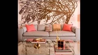 Идеи для росписи стен своими руками(Если Вы решили обновить свой дизайн интерьера- один из самых простых способов- это сделать рисунок на стене..., 2015-04-21T08:39:32.000Z)