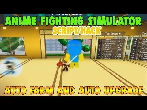 New Anime Fighting Simulator Script Pastebin Youtube