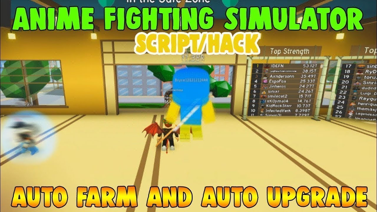 Roblox Anime Battle Simulator Script New Anime Fighting Simulator Script Pastebin Youtube