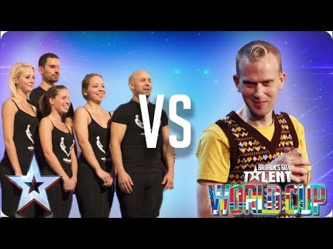 SEMI-FINAL: Attraction vs Robert White | Britain's Got Talent World Cup 2018