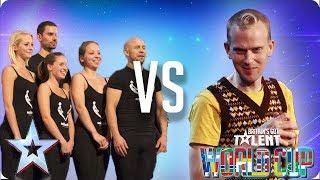 SEMI-FINAL: Attraction vs Robert White | Britain's Got Talent World Cup 2018