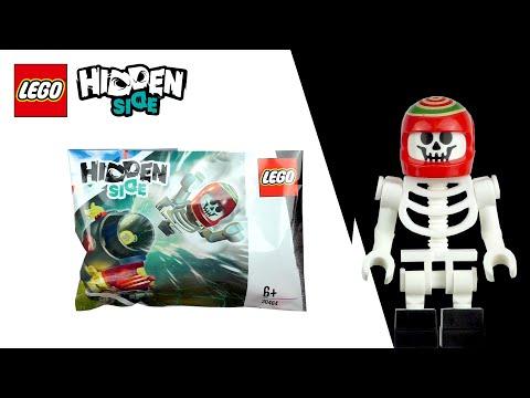 Ein Skelett Mit Schuhen? - Lego Hidden Side Polybag (30464)
