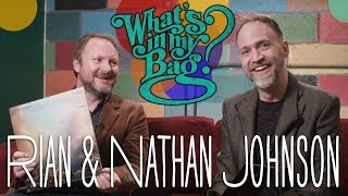 Rian Johnson and Nathan Johnson - What's In My Bag?