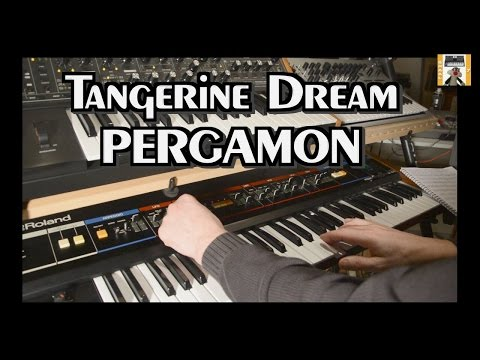 Tangerine Dream -PERGAMON 2017