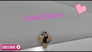 Northern Lights Dance Academy || Roblox Faded Dance ||