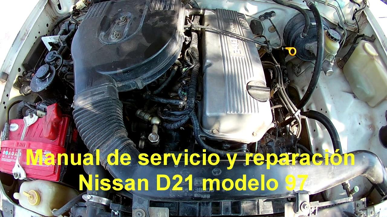manual de servicio y reparaci n nissan d21 modelo 94 96 y 97 youtube rh youtube com 1994 nissan pickup repair manual 1994 nissan pickup owner's manual