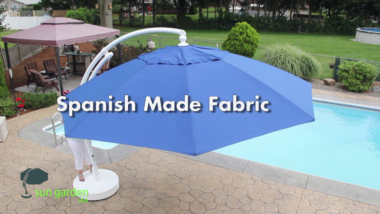 Sun Garden Easy Cantilever Umbrella You