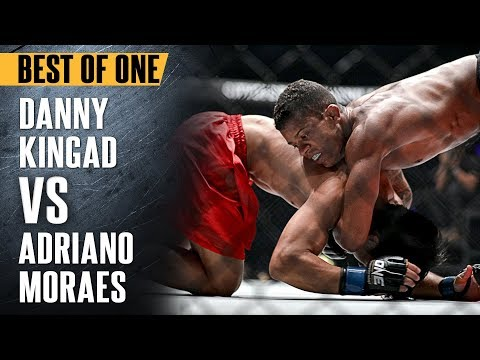 ONE: Best Fights | Danny Kingad vs. Adriano Moraes | The Submission Wizard | November 2017