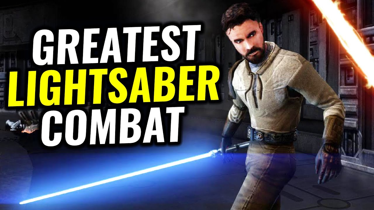 What's the GREATEST Lightsaber Combat in a Star Wars Game?