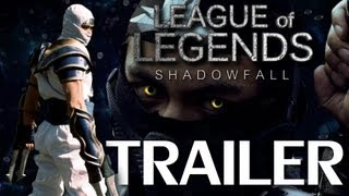 League of Legends: Shadow Fall Trailer (Live action L.O.L