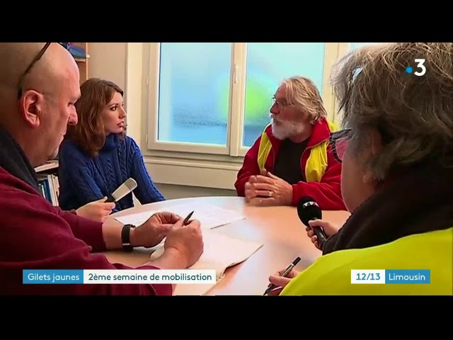 12 13 France 3 Limousin du 26 novembre 2018