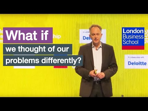 What if we thought about our problems differently?