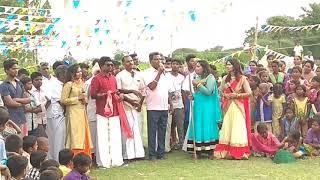 Idhu Namma area game show live rv vendhar gajirthantalam(2)