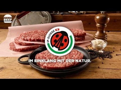 The BEEF Burger - 100 % IP-SUISSE Meat