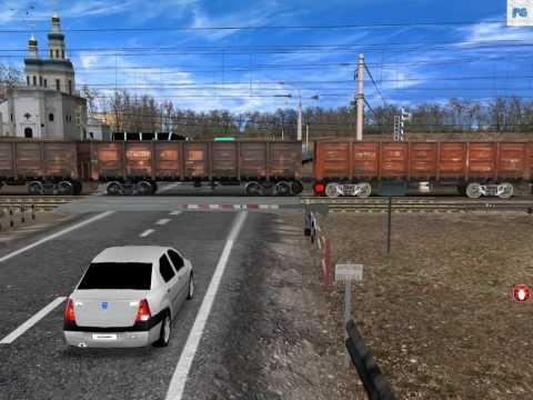 ВЛ - 10 на переезде