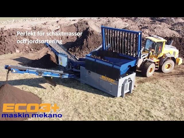Sorteringsverk på lastväxlarram ECO3+