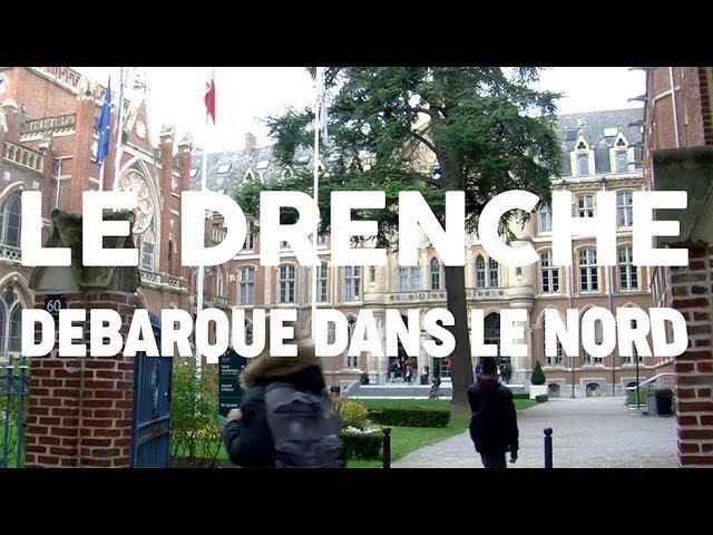 Lancement du Drenche à Lille