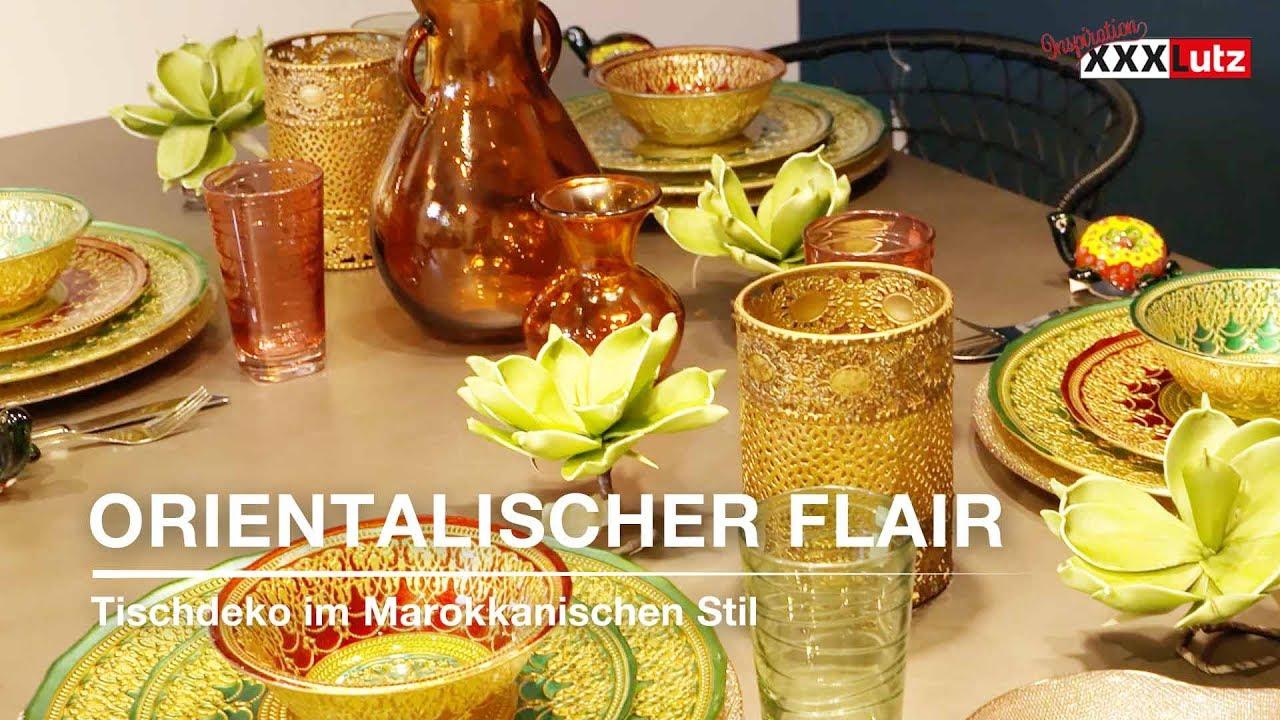 Orientalischer Flair Tischdeko Marokkanisch Xxxlutz Youtube