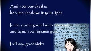 Virginia Moon by Foo Fighters ft. Norah Jones ( with lyrics )