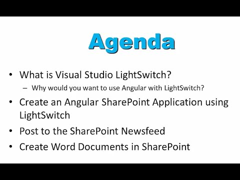 Creating Visual Studio Applications for SharePoint 2013 Using AngularJS