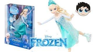 Disney Frozen Ice Skating Elsa Doll by Mattel