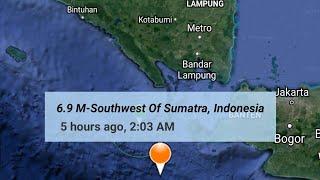 Jakarta, Indonesia Earthquake August 2nd, 2019