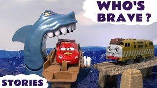 Cars Shark Attack Hot Wheels Who's Brave Race Pocoyo Thomas & Friend Play Doh Halloween Toy Story