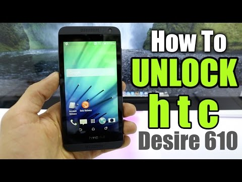 How To Unlock HTC Desire 610 - Use it with any gsm carrier AT&T / Rogers / Tmobile / O2, etc.